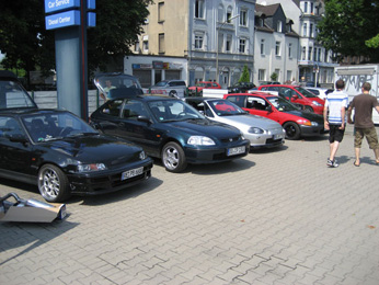 11.07.10 Honda Tuning Day vom Honda Club..